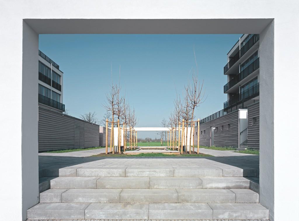 wohnbebauung tor zum park winking froh architekten gmbh. Black Bedroom Furniture Sets. Home Design Ideas